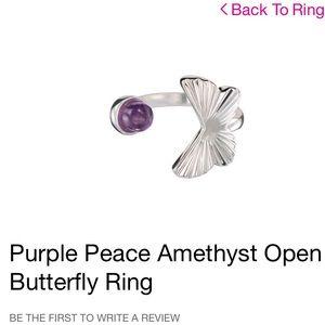Avon Butterfly Ring